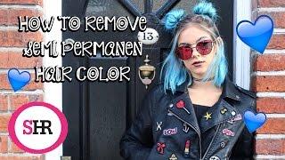 How To Remove SEMI PERMANENT Hair Color   Sophie Hannah Richardson