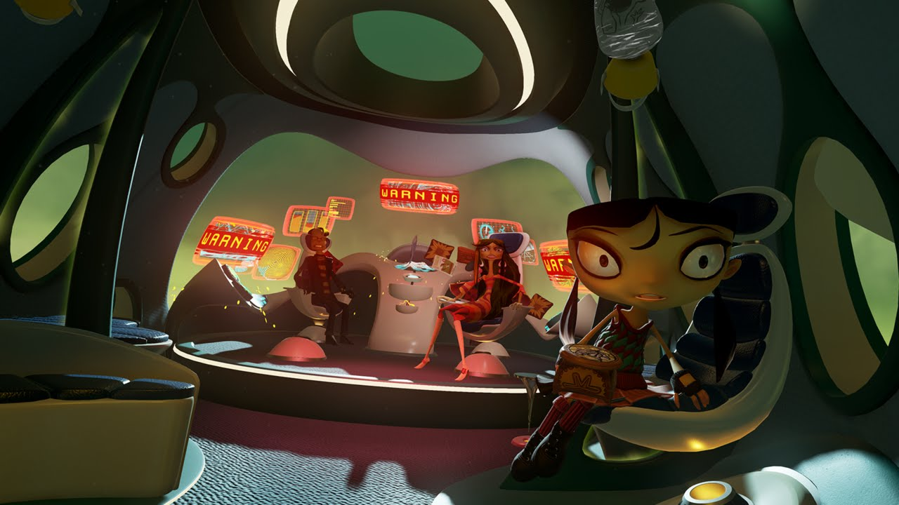 Image result for psychonauts in the rhombus of ruin
