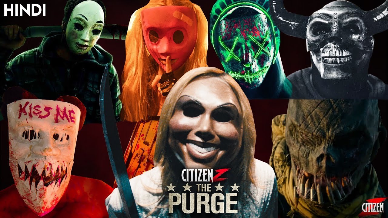 Ranking All Purge Movies + Timeline Explained | Hindi | Most Creative Franchise !!