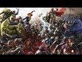 Marvel Cinematic Universe Radioactive Feat Kendrick Lamar HD mp3
