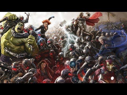Marvel Cinematic Universe || Radioactive Feat. Kendrick Lamar [HD]