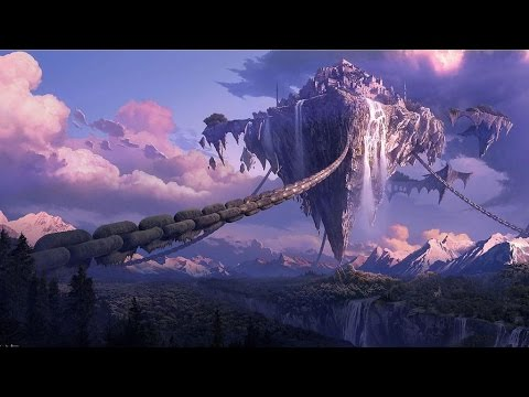 desktop floating sky galaxy flying fantasy widescreen computer island sfondi wallpapers medieval hintergrund landscape places backgrounds ecran fond background place