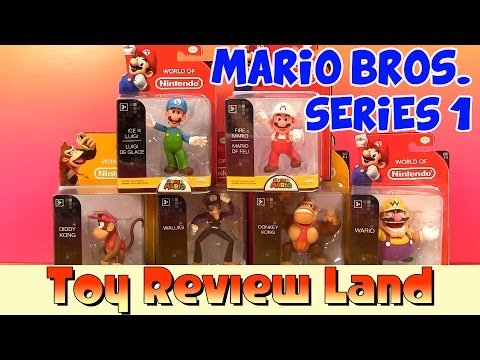 World of Nintendo Series 1 Figures with...