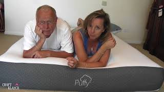 Today I'm reviewing the Puffy mattress. I was shocked at how comfor...