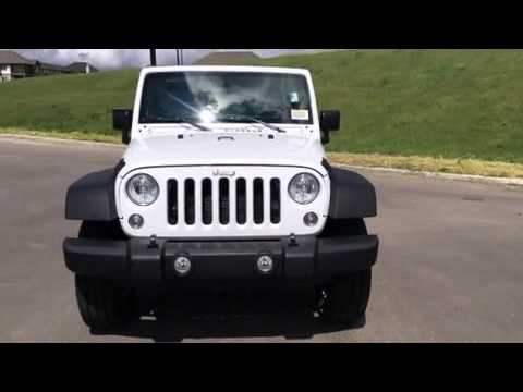 2016 Jeep Wrangler Sport S in Edmonton AB T5A1C3  YouTube