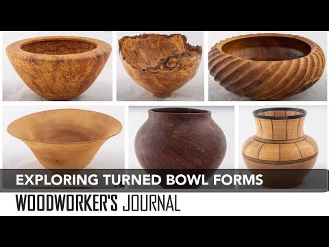 Exploring Woodturning Bowl Designs