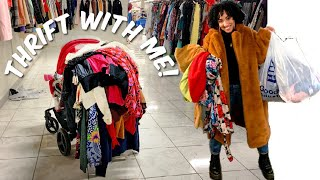 Black Friday Thrift With Me + HAUL!