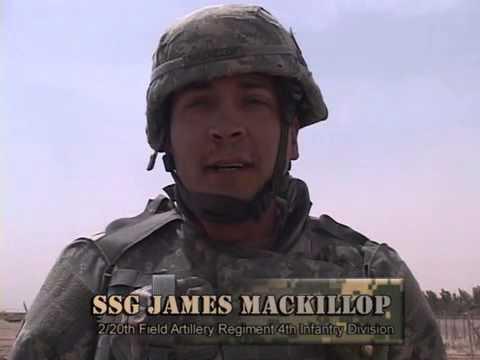 Combat Journalism - A Battery, 2-20FA in Camp Fallujah