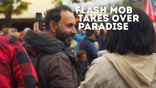Incredible Flash Mob Sings The Lion Kings Circle of Life