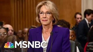 Parent on Betsy DeVos For Education Secretary: 'I'm Frightened' | MSNBC