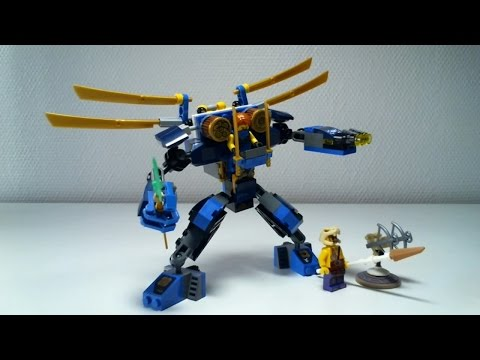 LEGO Ninjago Video Review : ElectroMech [Français]