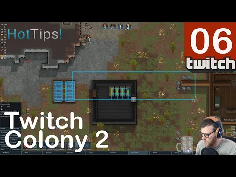 Rimworld A17 Twitch Colony 2 - Part 6 - WELCOME MS. STONE [Twitch]