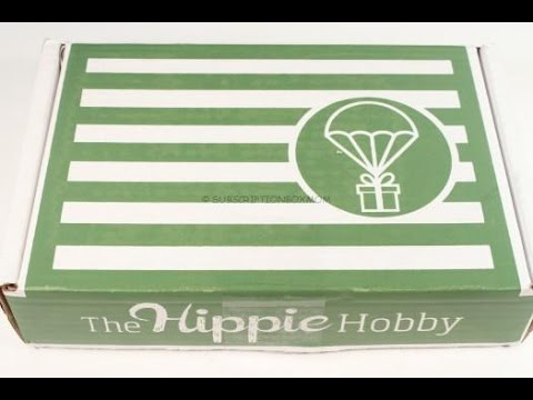 The Hippie Hobby April 2016 Unboxing + Exclusive Coupon @TheHippieHobby