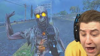 CALL OF DUTY just got SPOOKY and im terrified (ZOMBIE ROYALE)