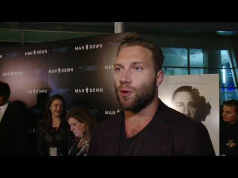 Man Down LA Premiere - Jai Courtney
