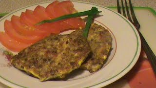 Котлеты из рыбных консервов.  Диета Дюкана.