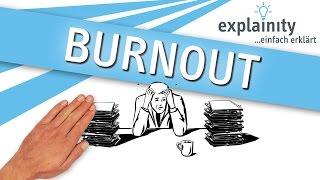 Burnout einfach erklärt (explainity® Erklärvideo)
