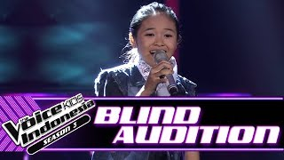Fire Amanda - Terlalu Manis | Blind Auditions | The Voice Kids Indonesia Season 3 GTV 2018