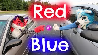 Red vs. Blue: Furry Battle