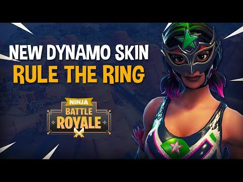 *Brand New* Dynamo Skin!! Rule The Ring! - Fortnite Battle Royale Gameplay - Ninja