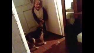 Собака ест ребенка! ЖЕСТЬ!!!!!!!!!!!11(Собака ест ребенка., 2014-05-23T11:05:14.000Z)