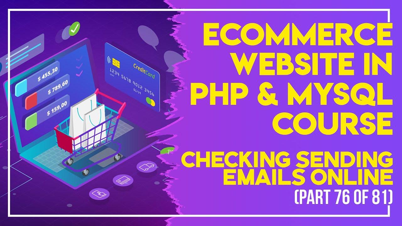 E-Commerce website in PHP & MySQL in Urdu/Hindi part 76 uploading the eCommerce to online server