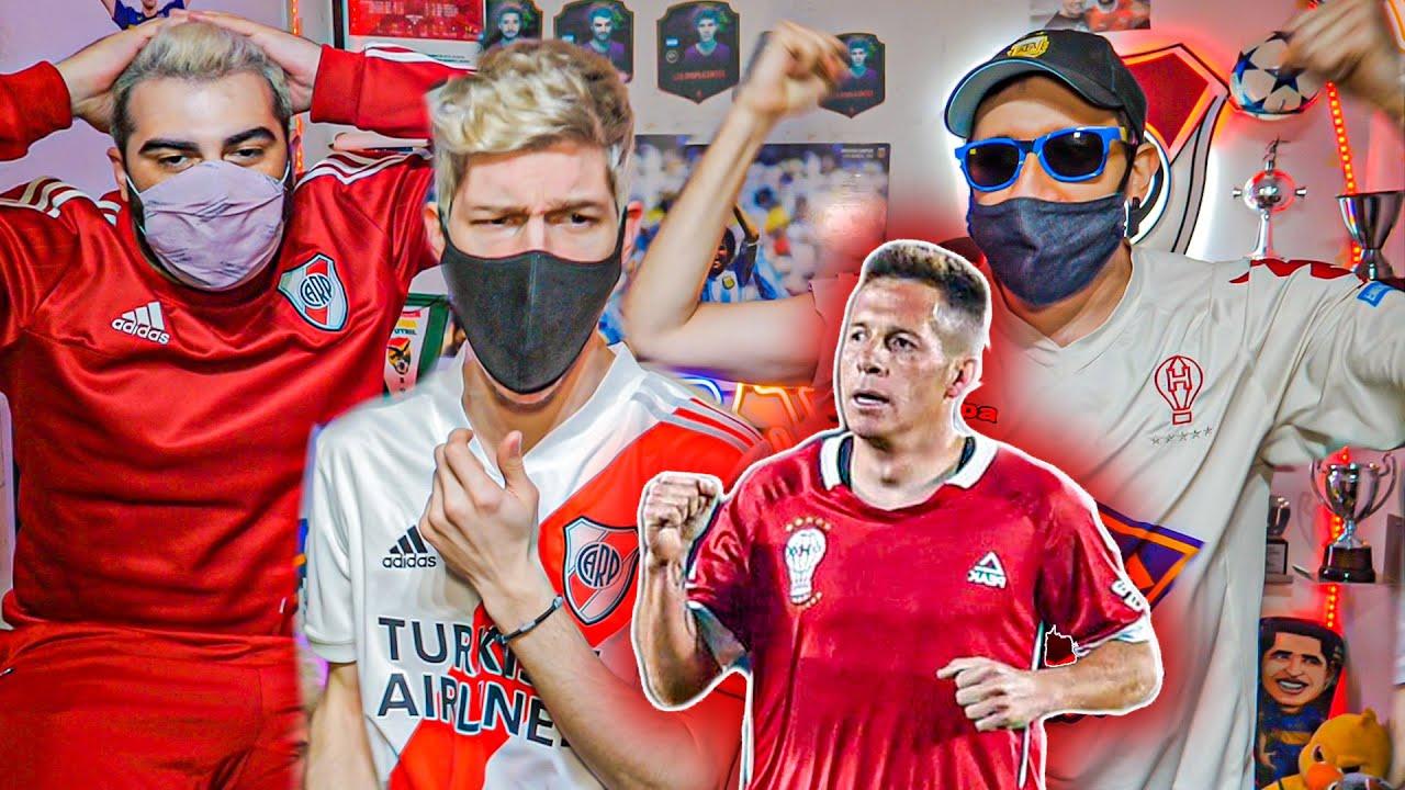Reacciones de Amigos | River vs Huracán | Torneo Liga Profesional 2021