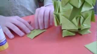 Оригами Кусудама (Урок 14)