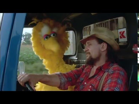 Ain't No Road Too Long - Follow That Bird | 1985 Sesame Street Movie