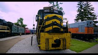 Railfanning Bellevue OH, Part 2 of 2, in 4K