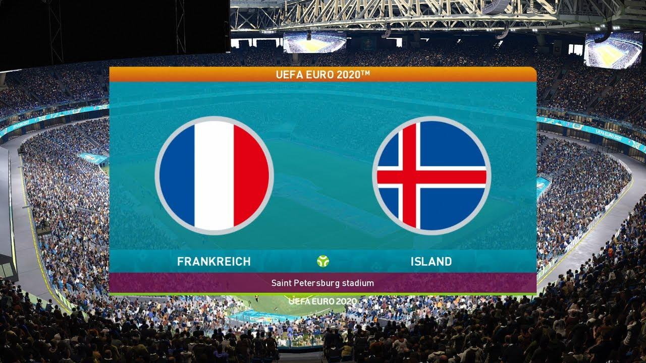 Frankreich Island 2021