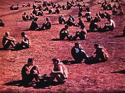 U.S. ARMY RANGER COMBAT TRAINING School, Fort Shafter, Territory of Hawaii - Rare Silent Film