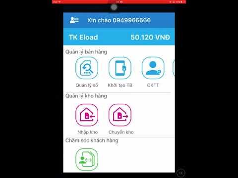 Hướng dẫn sử dụng phần mềm SMCS Vinaphone để chọn số