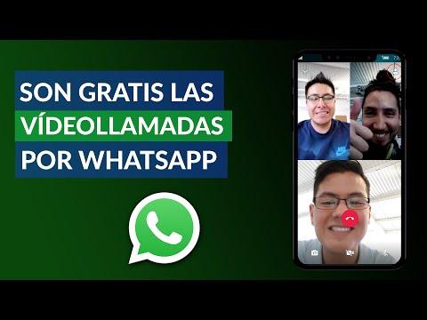 ¿Son Gratis las Videollamadas por WhatsApp?