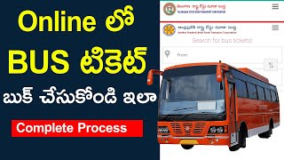 How to Book Bus Ticket Online in Telugu Complete Process screenshot 3