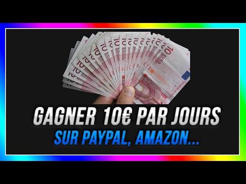 COMMENT GAGNER 10€ PAR JOUR SUR PAYPAL, AMAZON...