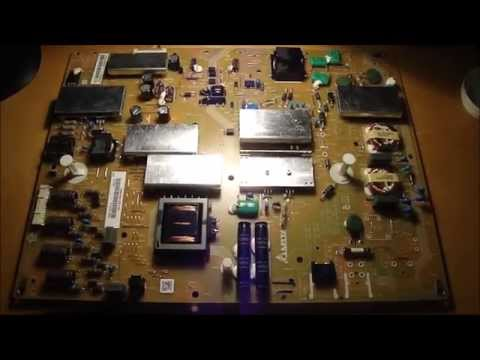Fix Sharp AQUOS power light blink 3 slow 1 fast