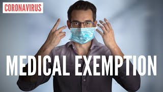 """Medical Exemption"" From Wearing A Mask for Coronavirus (DOCTOR EXPLAINS)"