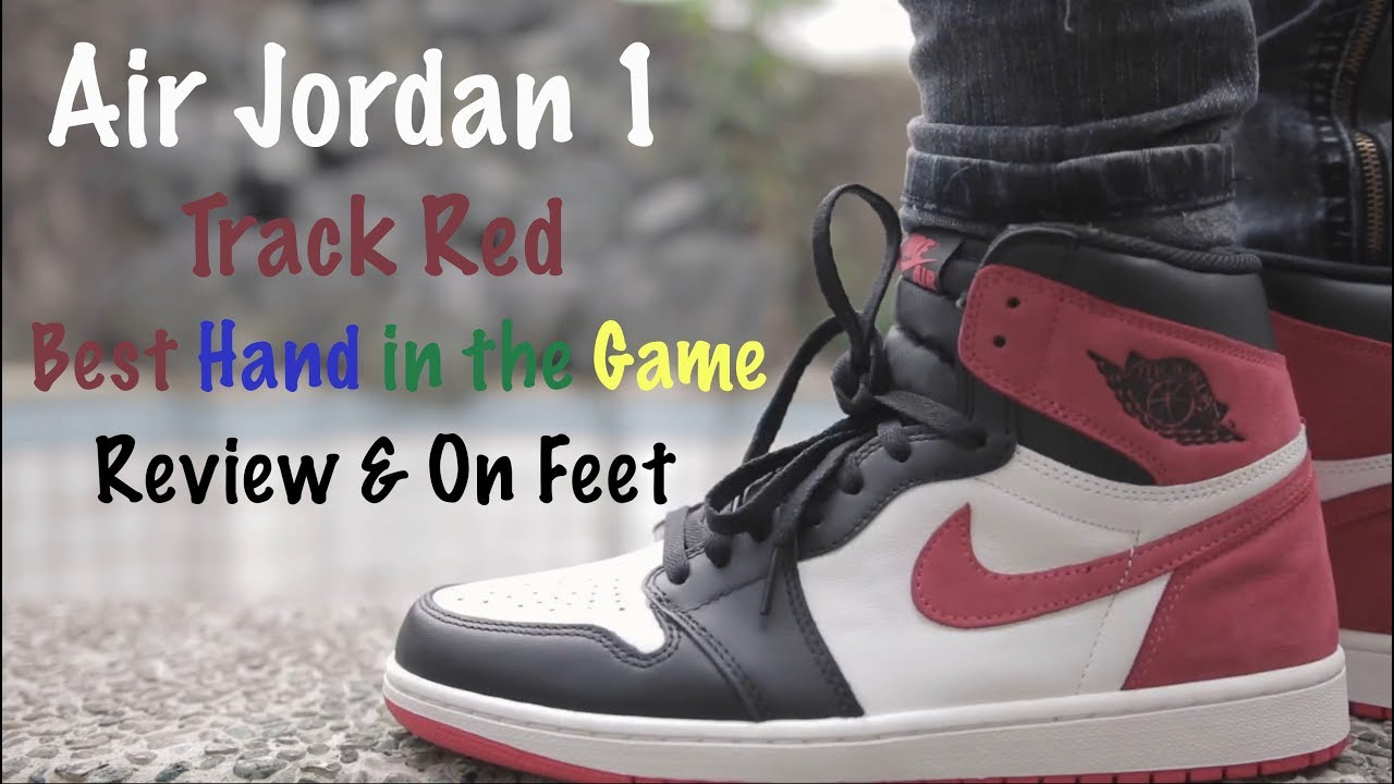 3ef8836d1f5be8 Air Jordan 1 Track Red Review   On Feet - YouTube