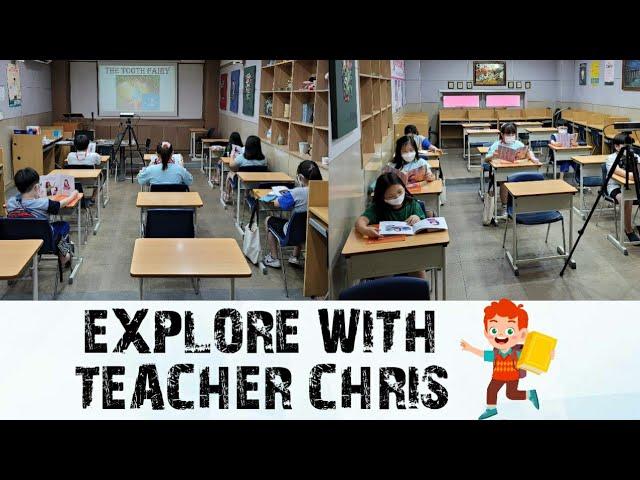 EXPLORE WITH TEACHER CHRIS AHJUSSI
