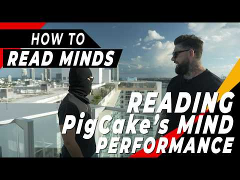 How To Read Minds Vs PIGCAKE (Trick 1 Of 20)