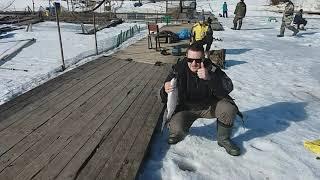 Зимняя рыбалка на форель
