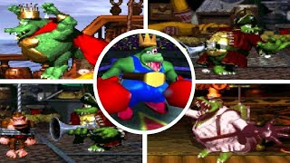 Evolution of King K. Rool Boss Fights in Donkey Kong Games (SNES-N64)