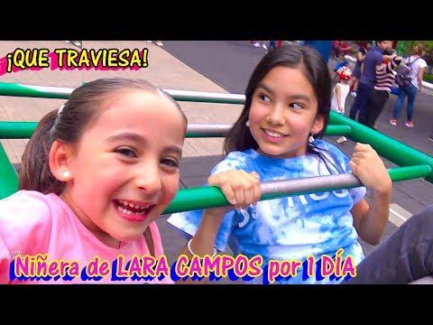 Soy NIÑERA de LARA Campos Por Un DÍA | TV Ana Emilia