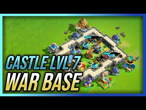 Castle Lvl 7 War Base | Best Defense Strategy | Castle Clash : New Dawn (Layout)