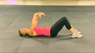 Holly perkins will lead you through a series of exercises that tighten and tone one the most troublesome zones: your abdominals!