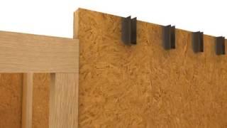 видео строительство домов из панелей сип