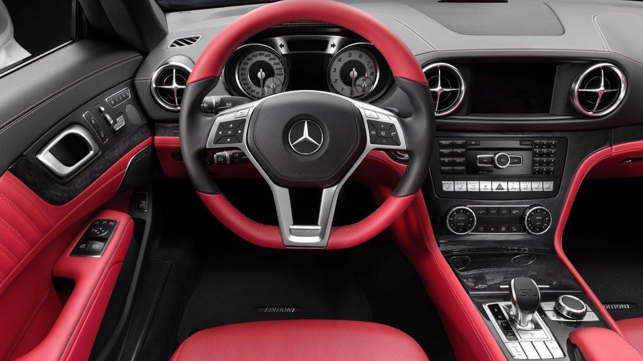 2013 Mercedes Sl Edition 1 Interior Youtube