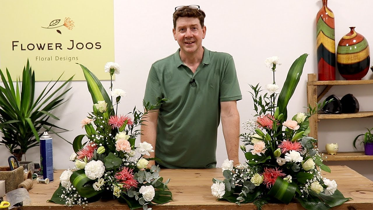 How To Make 2 Traditional Matching Altar Arrangements Youtube