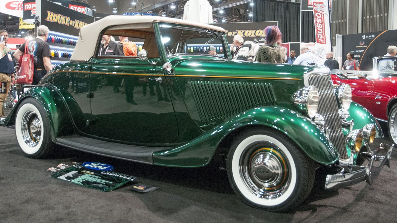 House of color green paint - Jon Kosmoski S 1934 Ford At House Of Kolor